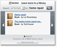 Utilisez les outils WorldCat